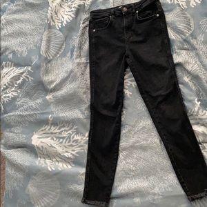 Black free people jeans